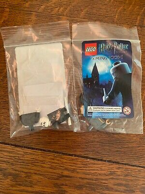 SDCC 2011 LEGO Harry Potter + Lord VOLDEMORT Minifigures Mini Figure New