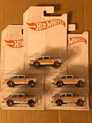 "Hot Wheels Pearl & Chrome Series ""55 CHEVY BEL AIR GASSER Lot of 5 FIVE Cars"