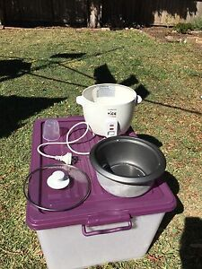 Rice cooker TXT or Email ONLY Homebush Strathfield Area Preview