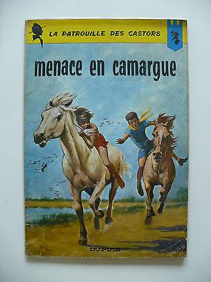 EO 1965 (bel état) - La patrouille des Castors 12 (menace en Camargue) - Mitacq