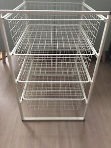Used IKEA Antonius Wire Frame and Baskets