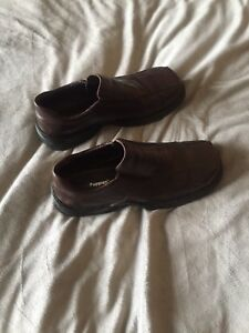 Men's Shoes - Brown Hush Puppies Size 9.5