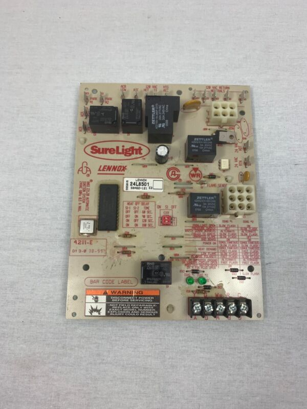 Sure light Circuit Board 50A62-121 E2 Lennox Armstrong Ducane 24L8501