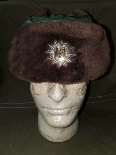 West German Military Ushanka Hat