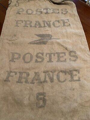 1920s Style Purses, Flapper Bags, Handbags Vintage 1920's Era France Postes Postal #5 Canvas Mail Collection/Delivery Bag $119.95 AT vintagedancer.com