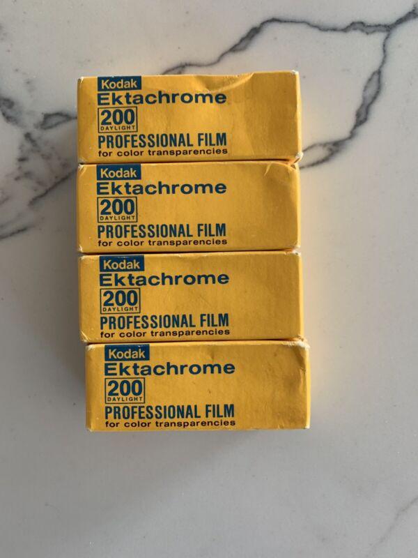 Ektachrome E200 120 Film 4 Rolls 1980 Frozen