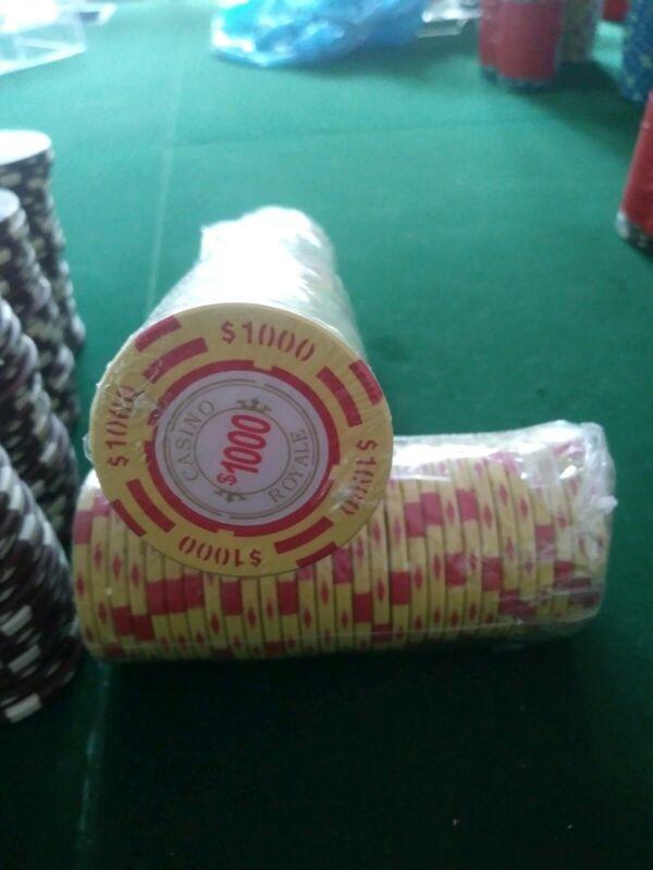 Casino Royale $1000 Poker Chip
