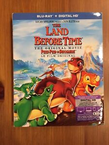 DVD Blu-Ray pour enfant - The Land Before Time- petit pied
