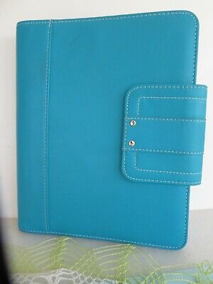 Classicdesk 1 Rings Sim. Leather Day-timer Plannerbinder Snap Franklin Covey