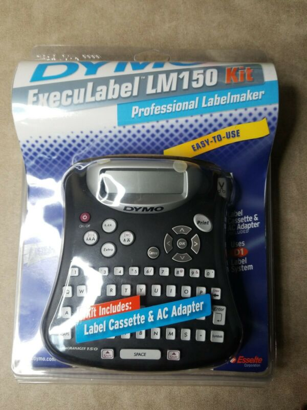 Dymo Execulabel LM 150 Kit Professional Labelmaker Easy to Use.