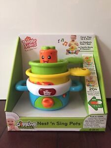 Bright Starts Nest n Song Pot toy