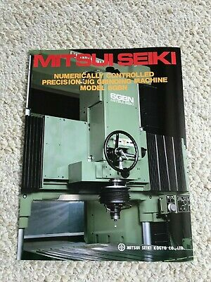 Mitsui Seiki 6gbn Jig Grinding Machine Specification