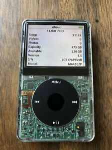 5.5 Gen iPod Classic 512GB Flash Mod/Wolfson DAC **Read First**
