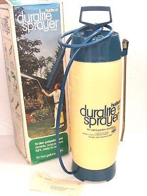 NOS! HUDSON DURALITE 2 GALLON POLY TANK SPRAYER, 6622 - 2 Gallon Poly Sprayer