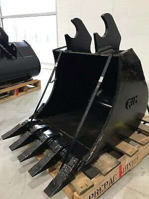 New 24 Heavy Duty Excavator Bucket For Kubota Kx057 With Coupler