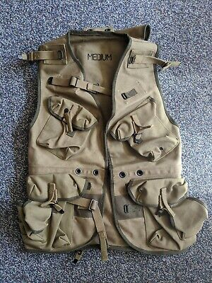 At the Front ATF Reproduction Normandy Assault Jacket Vest Medium