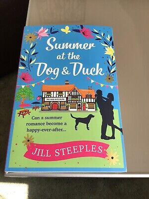 Summer At The dog & Duck Paperback Author Jill Steeples