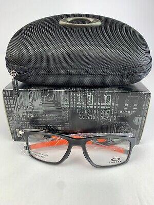 Oakley CROSSLINK SATIN BLACK Size:55 OX8090-0155 (XTRA TEMPLE NOT INCLUDED)