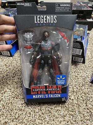 🔥MCU🔥Marvel Legends FALCON-‼️Walmart Exclusive‼️ Captain America Civil War🎥
