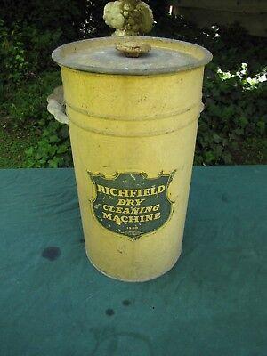 Vintage Richfield Dry Cleaning Machine
