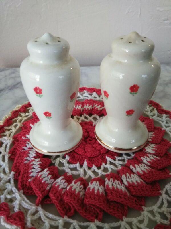 Blushing Rose Dalrymple Lido WS George Salt & Pepper Shaker USA 1950
