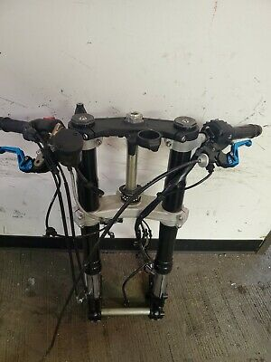 2019 16-20 Kawasaki ZX10R Ninja Front End Forks Tubes Suspension Controls Bars