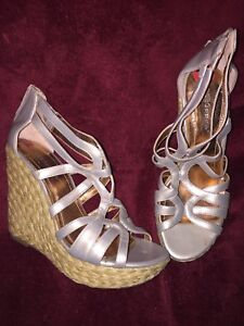 BCBG Wedge sandals