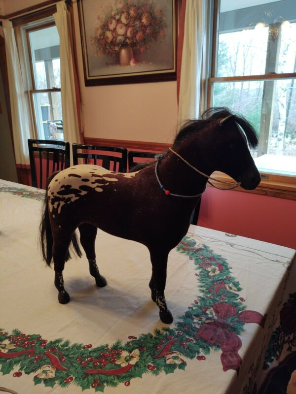 "Large 20"" By 19"" Felt TOY Horse"