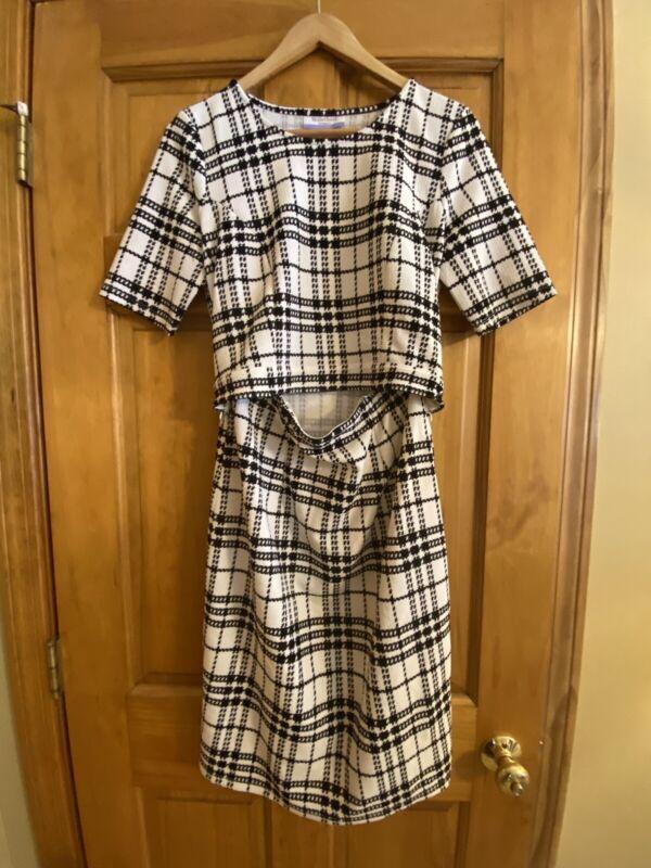 Motherhood Maternity Nursing Dress Size S