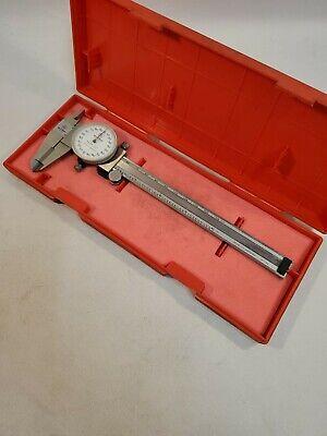 Mitutoyo 505-641-50 6 Dial Caliper With Case
