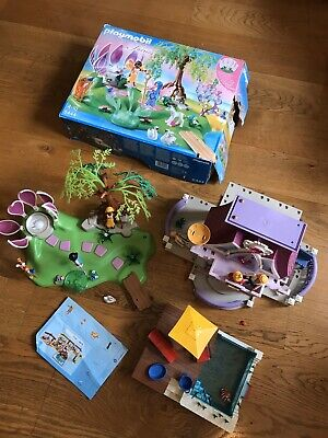 Playmobil Fairy Set, Castle And A Poolset