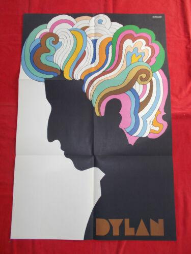 +++ 1966 BOB DYLAN Promotion Poster by Milton Glaser