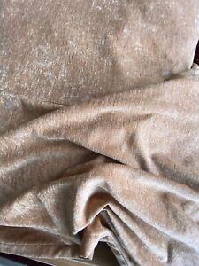 Bedspread luxury look apricot soft velvet style large