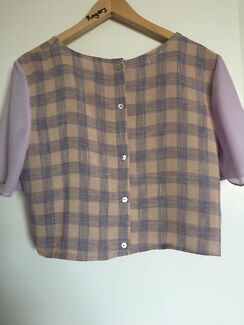 Hunter the Label crop blouse