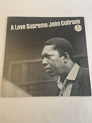 John Coltrane - A Love Supreme LP  ABC/Impluse (1973)