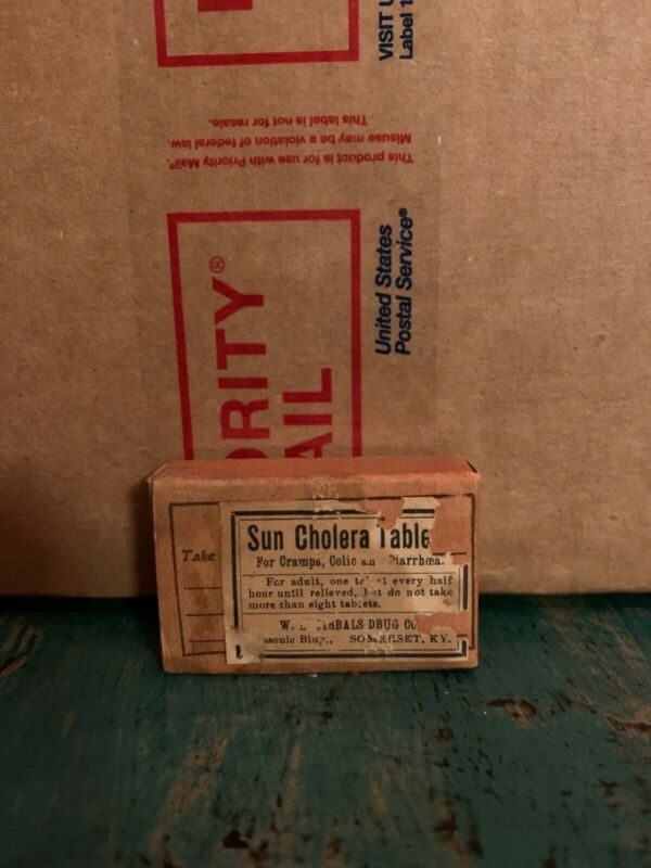 Antique medicine, Sun Cholera Tablets