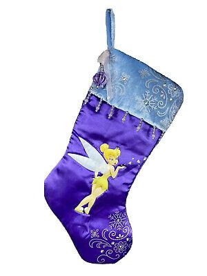 Disney Tinkerbell Christmas Xmas Stocking Seasonal Specialties Peter Pan Movie