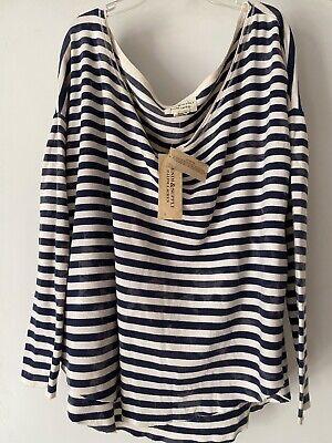 Womens Ralph Lauren Denim And Supply Striped T Shirt..nwt