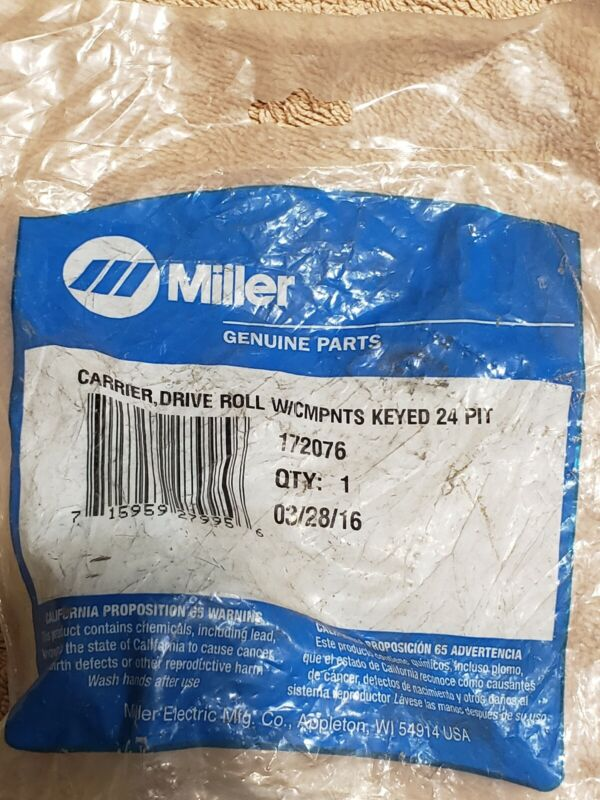 Miller 172076 Carrier Drive Roll w/ Components Keyed 24