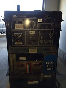 Miller big blue 800d portable welder.