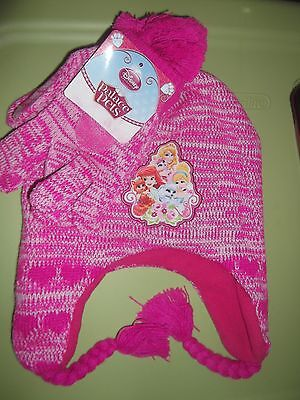 Hat and Matching Gloves Disney Palace Pets and Princesses -