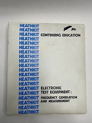 Heathkit Continuing Education - Electronic Test Equipment Vintage Binder