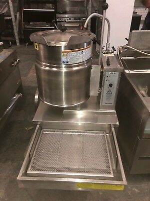 Cleveland Ket-12-t 12 Gallon Tilting 23 Steam Jacketed Electric Tabletop Kettle