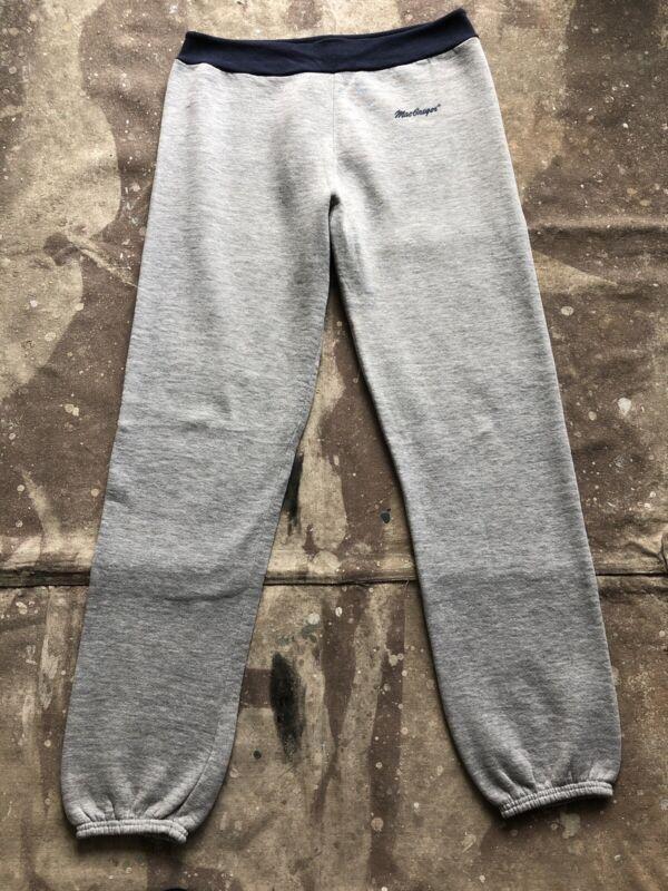Vintage 70's 80's MacGregor RAYON Tri-blend 2-TONE Drawstring M Sweatpants USA
