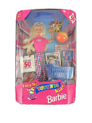 I'm A Toys R Us Kid 50th Anniversary Blonde Barbie Doll Mattel 1997