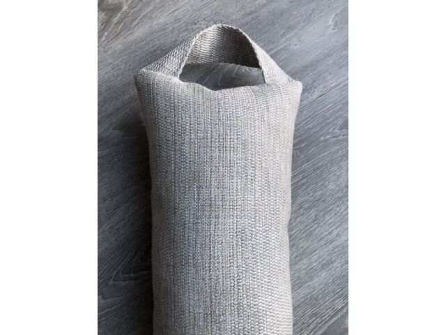 2m French Grey Draught Excluder