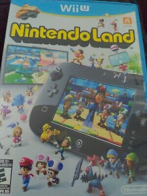 $1 Wii U Game - Nintendo Land - CD Condition Booklet Intact