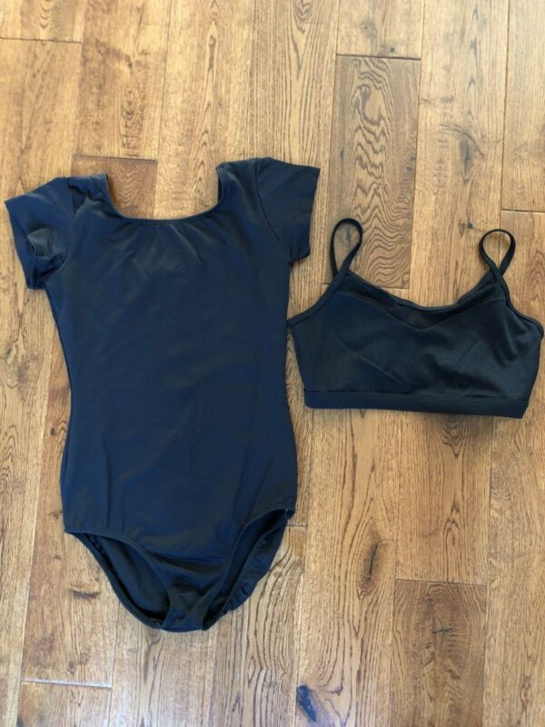 Dance leotard and bra size small
