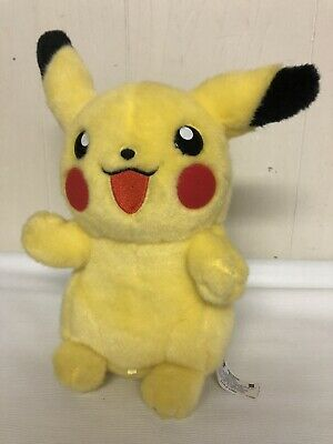 "Pikachu Plush Stuffed Nintendo Pokemon 2004 10"" Soft Toy Gameboy Advance Yellow"