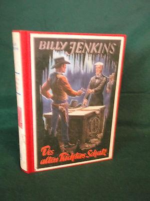 BILLY JENKINS -Bd. 95-Des alten Richters Schatz -1954, Ehem. Leihbuch-Leihbücher